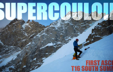 upercouloir - T16 First Ascent, South Summit