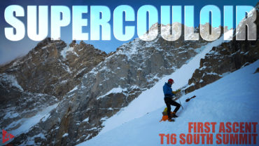 Supercouloir – T16 First Ascent, South Summit
