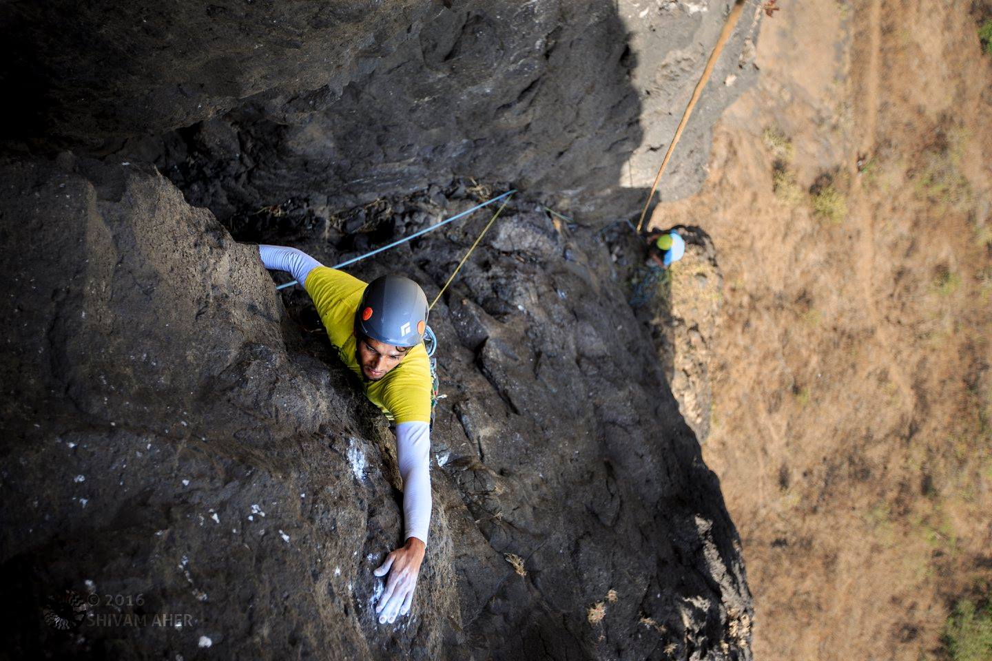 Trad Climbing in India - The Duo, about to nail a first ascent on the route