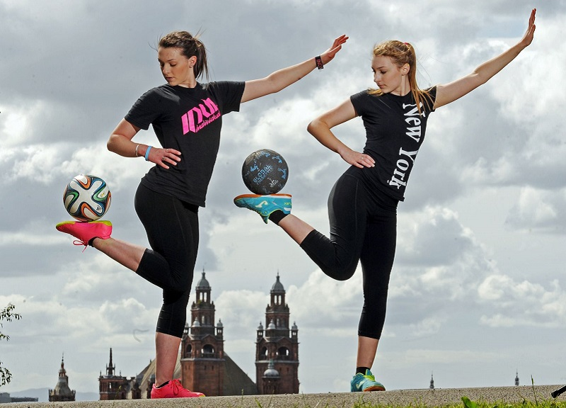 Indi and Skye Cowie - Emerging Art of Freestyle Football in India