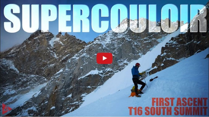 Supercouloir T16 First Ascent, Zanskar Himalaya