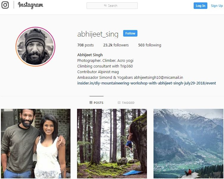 How Adventure Sports Athletes Can Become Social Media Influencers- Abhijeet Singh