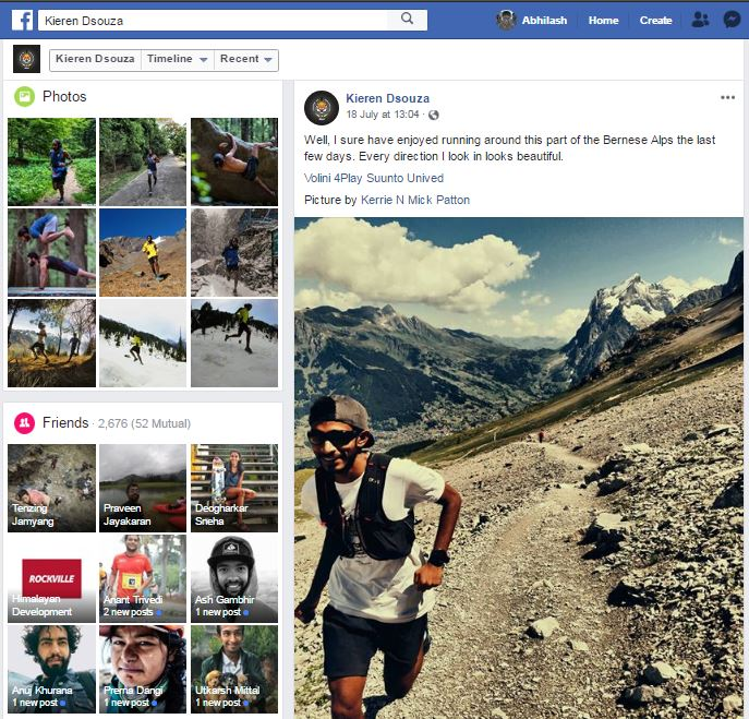 How Adventure Sports Athletes Can Become Social Media Influencers- Kieren Dsouza