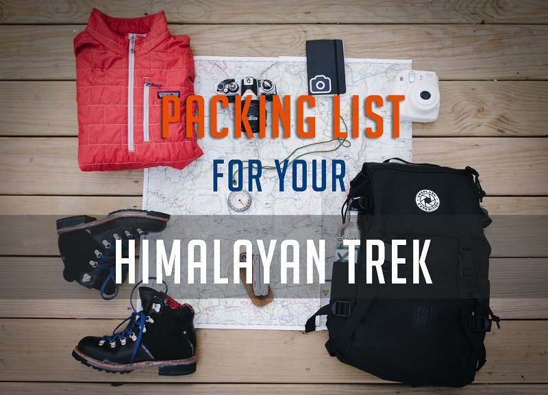 """What to pack for a trek?"" Creating an Ultralight trekking gear list 