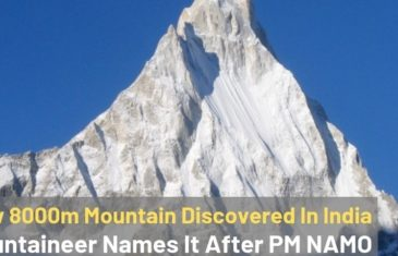 New 8000 Meter Mountain Discovered In India | 4Play.in